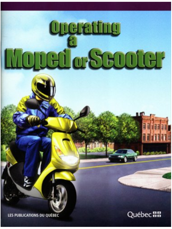 Operating a Moped/Scooter
